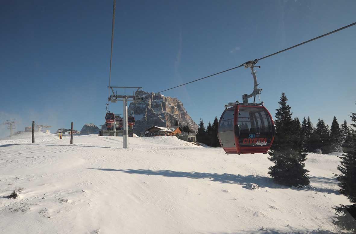avvio della stagione dello sci
