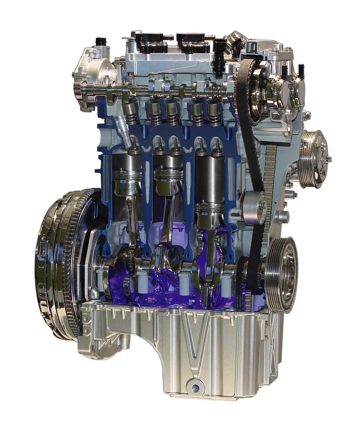 Ford nuovo motore EcoBoost 1.0 litri 3 cilindri 125 cv 1