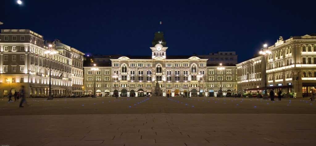 Trieste Piazza dell Unità d'Italia