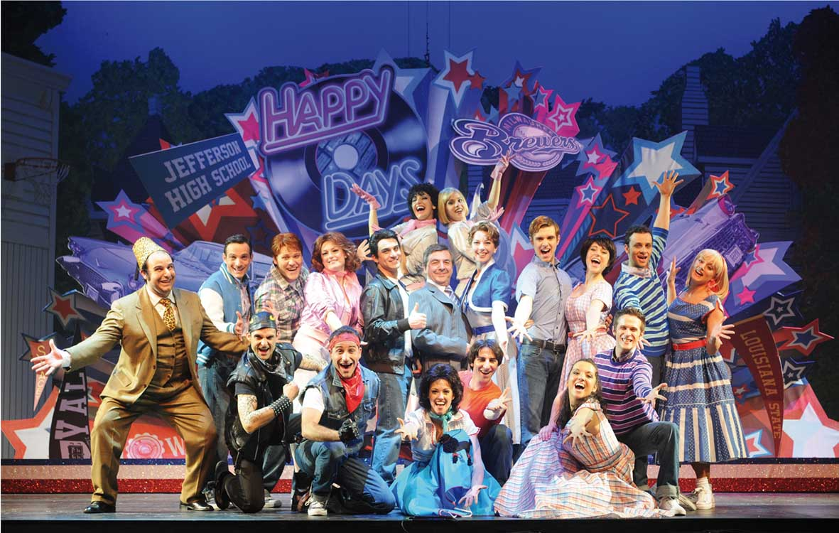 CSC 2012 musical Happy Days