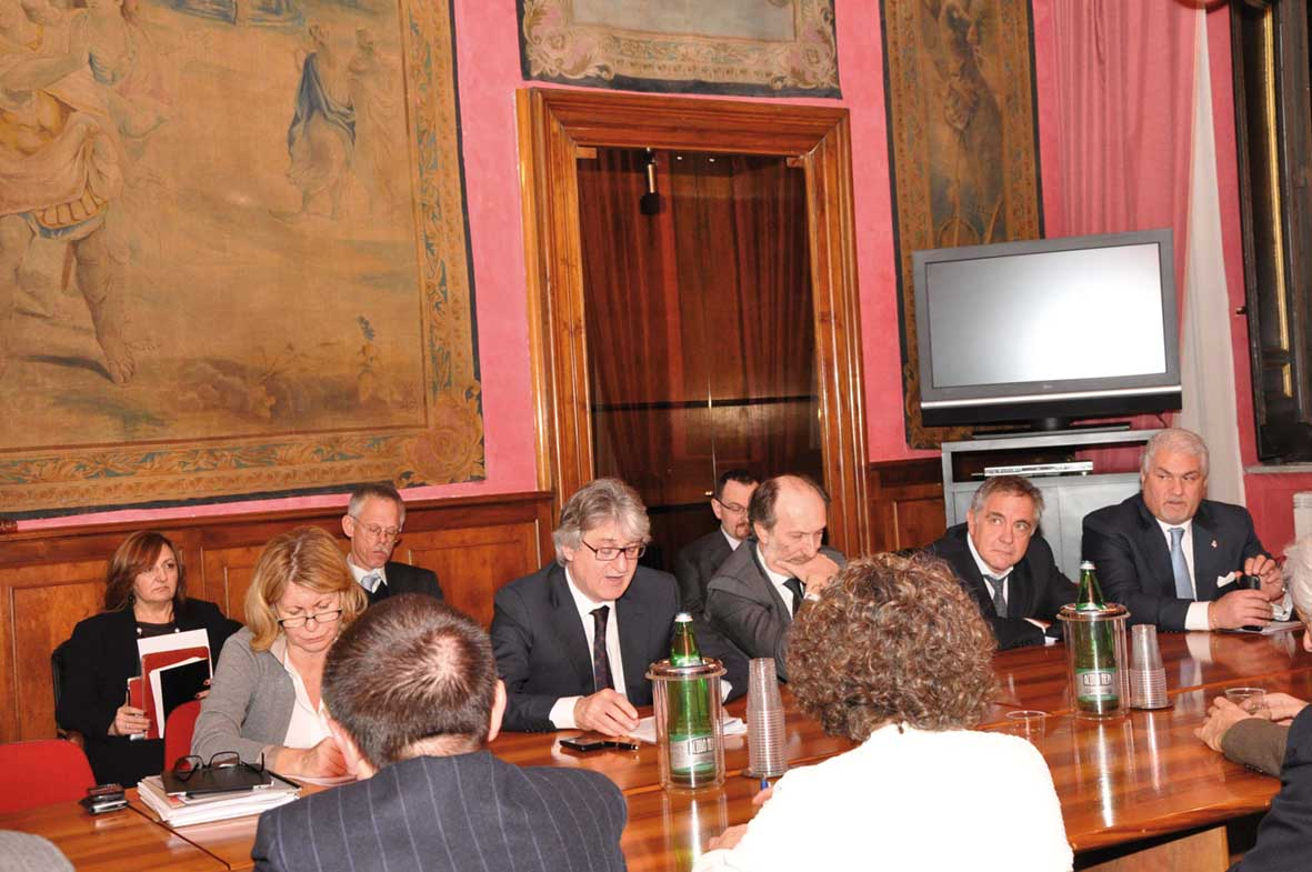 FVG tondo incontro delegazione parlamentare