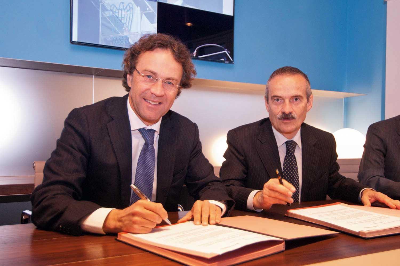 Accordo Confindustria PD-Banca Antonveneta Massimo Pavin Giuseppe Menzi 1