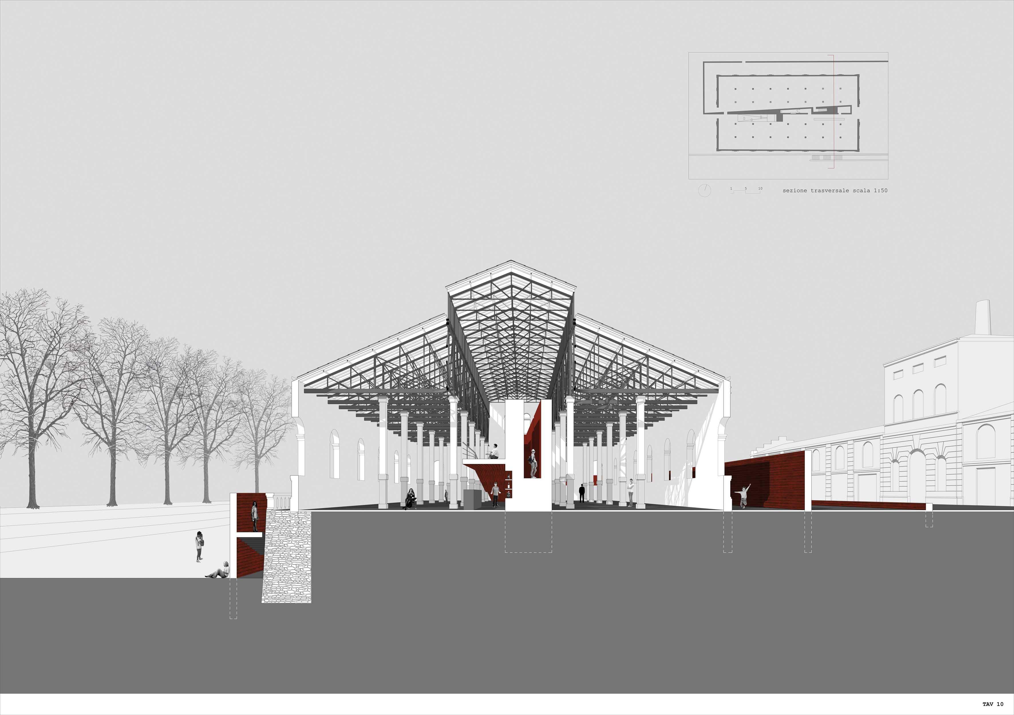 Premio Territorio per Azioni 2012 vincitori rendering mura 1