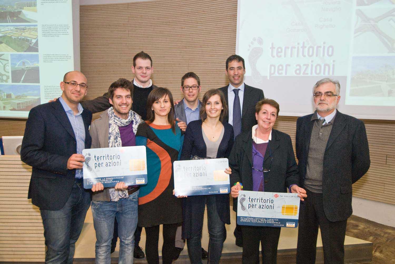 Premio Territorio per Azioni 2012 vincitori tutti premiati 1