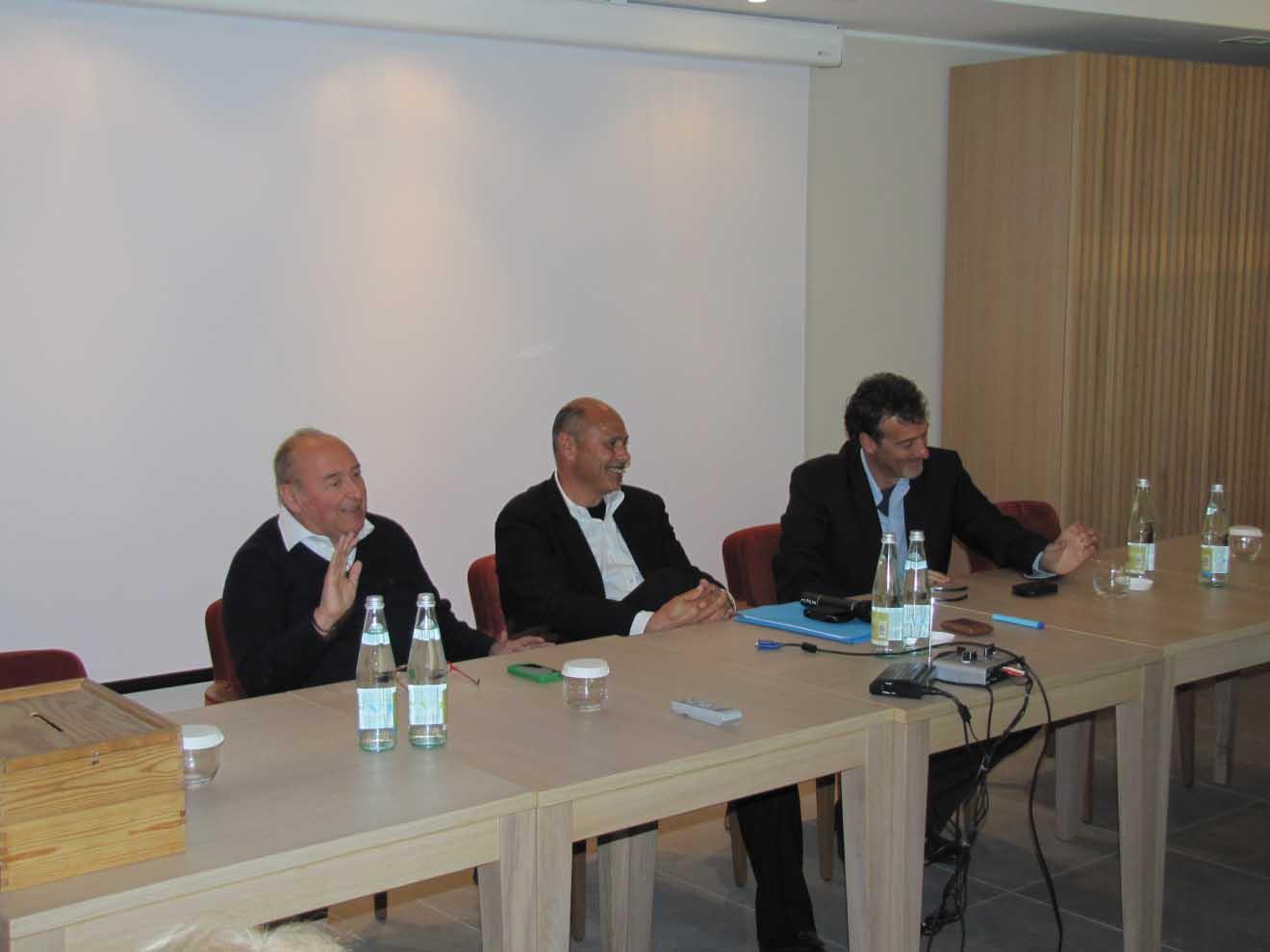 fimaa tn da sinistra Giovanni Bort Severino Rigotti e Gianni Acampora 1