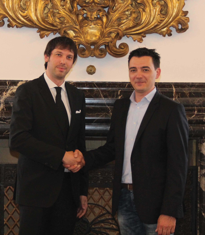 Confindustria udine cambio presidenti neo Massimiliano Zamò ed Enrico Accettola 1