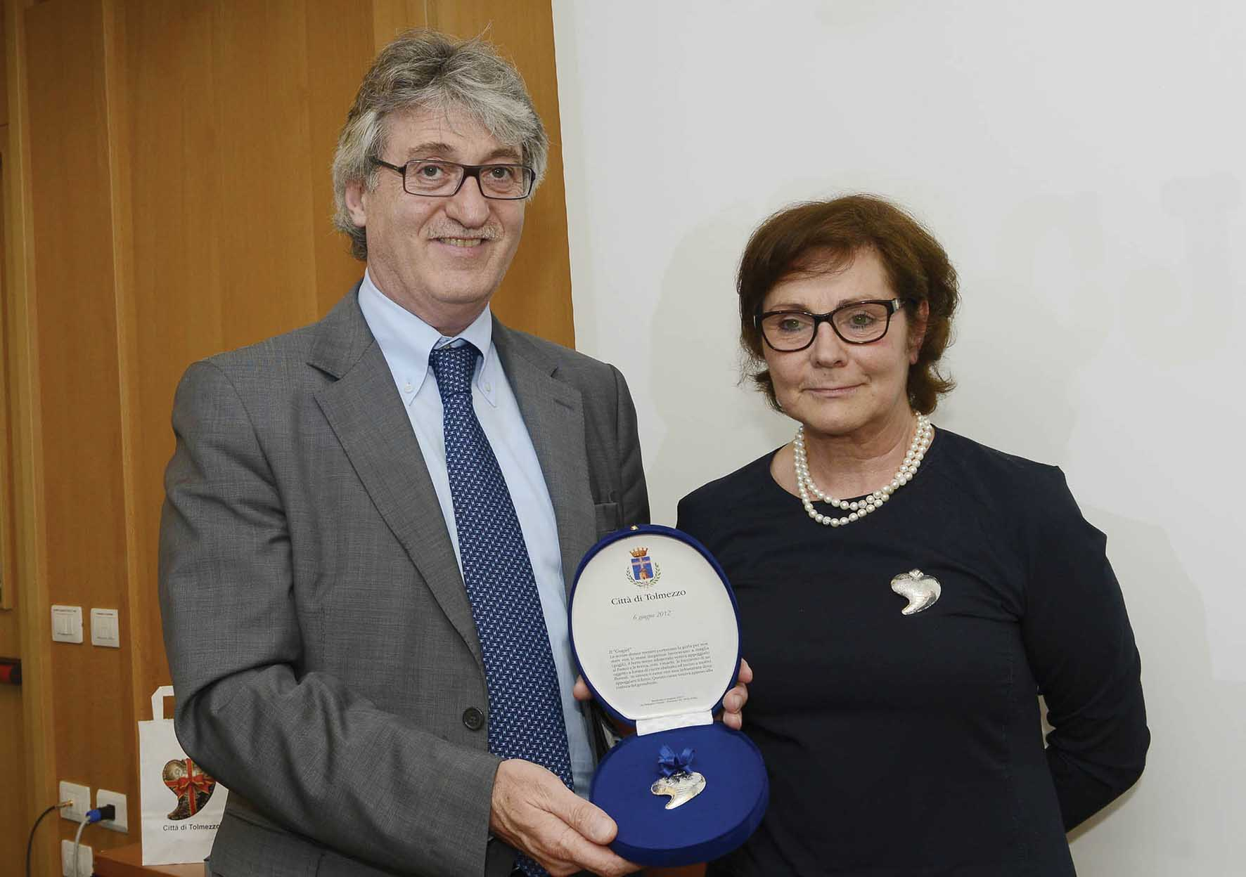 FVG presentazione del gugjet Renzo Tondo Aurelia Bubisutti Ass Turismo Tolmezzo 1
