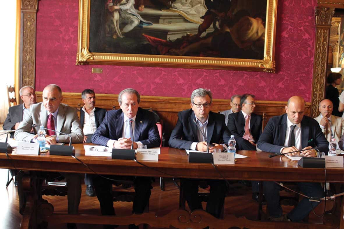 Verona assemblea UPI tavolo coordinatori 1