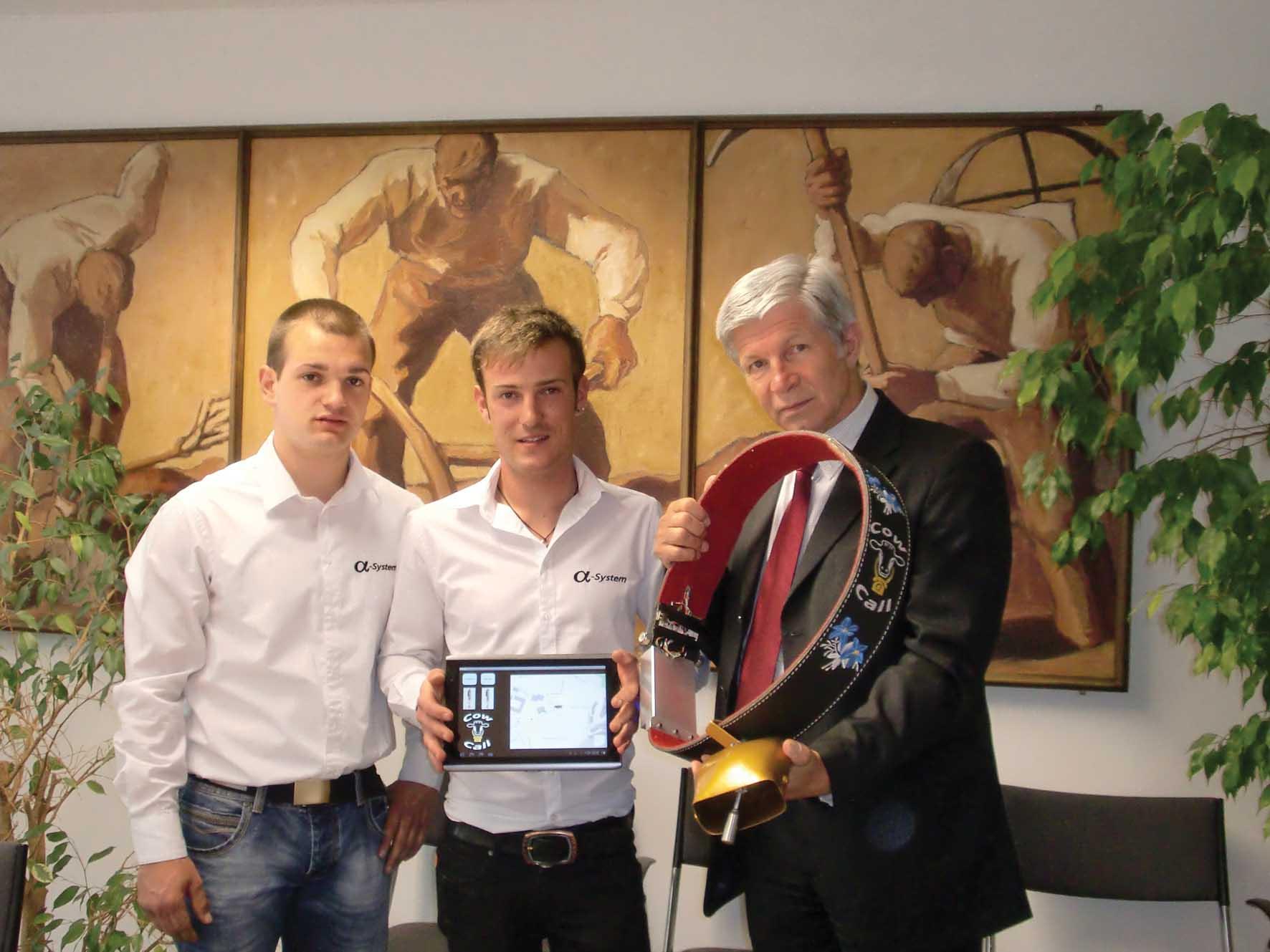 pab campanaccio high-tech Martin Monsorno Patrick Anderlan e Hans Berger 1