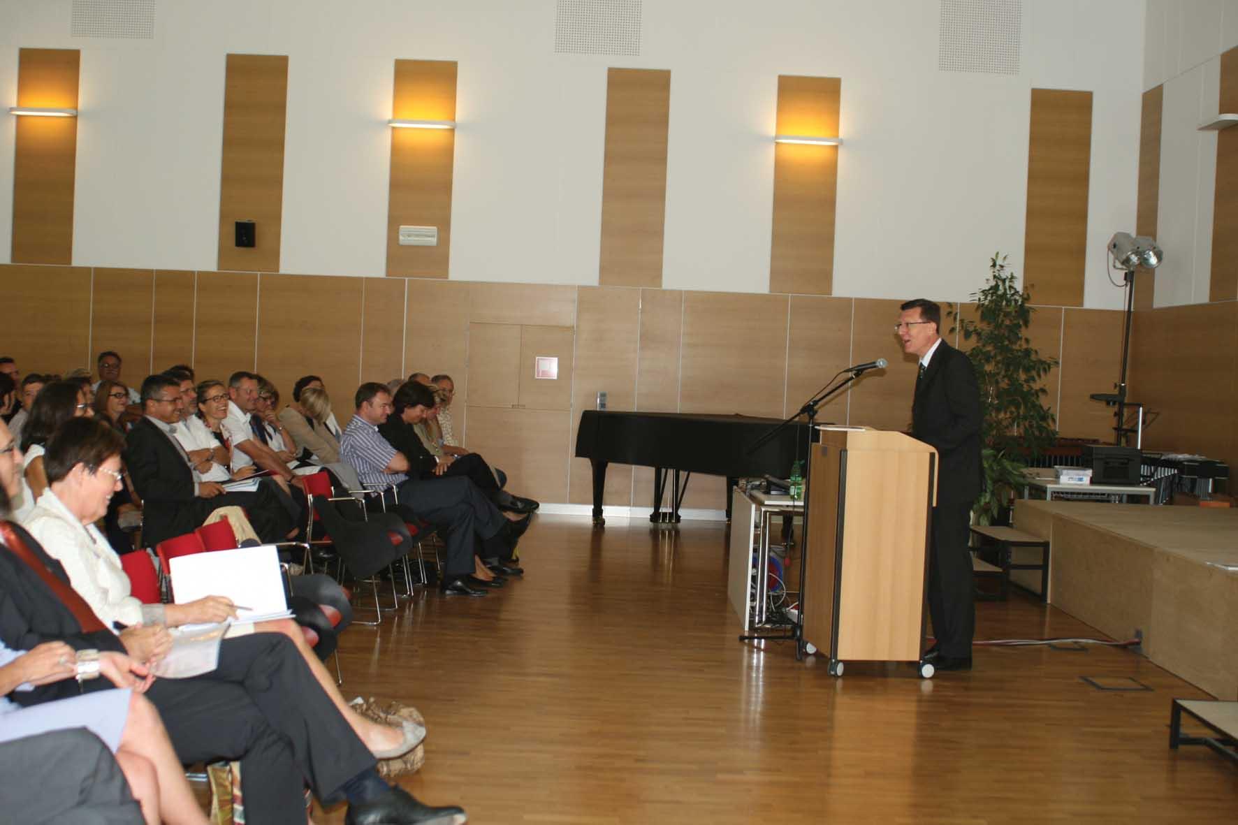 PAB inaugurazione anno scolastico tedesco Il liceo ³Walther von der Vogelweide² 1