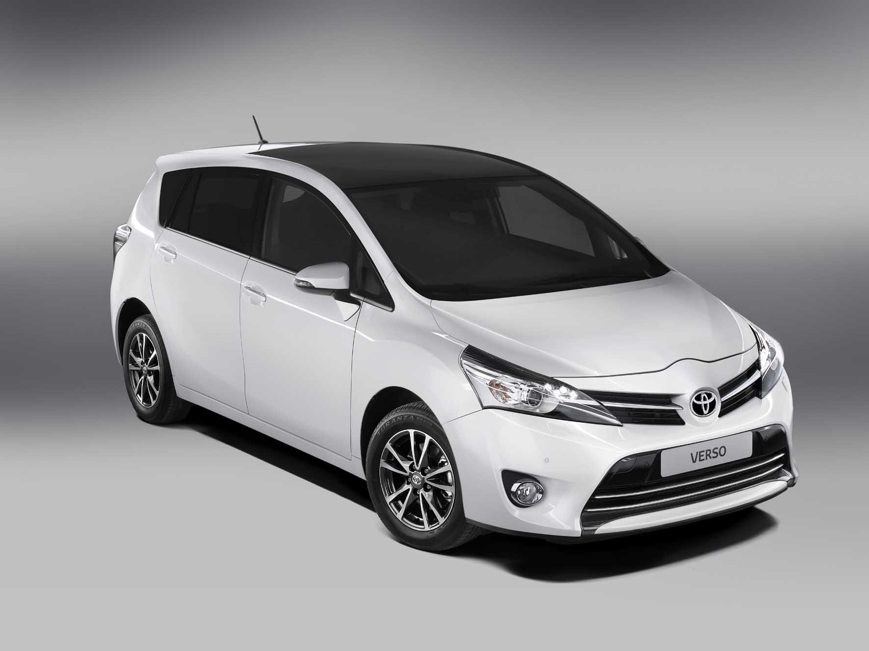 Toyota 2012 nuova Verso frontlat 1