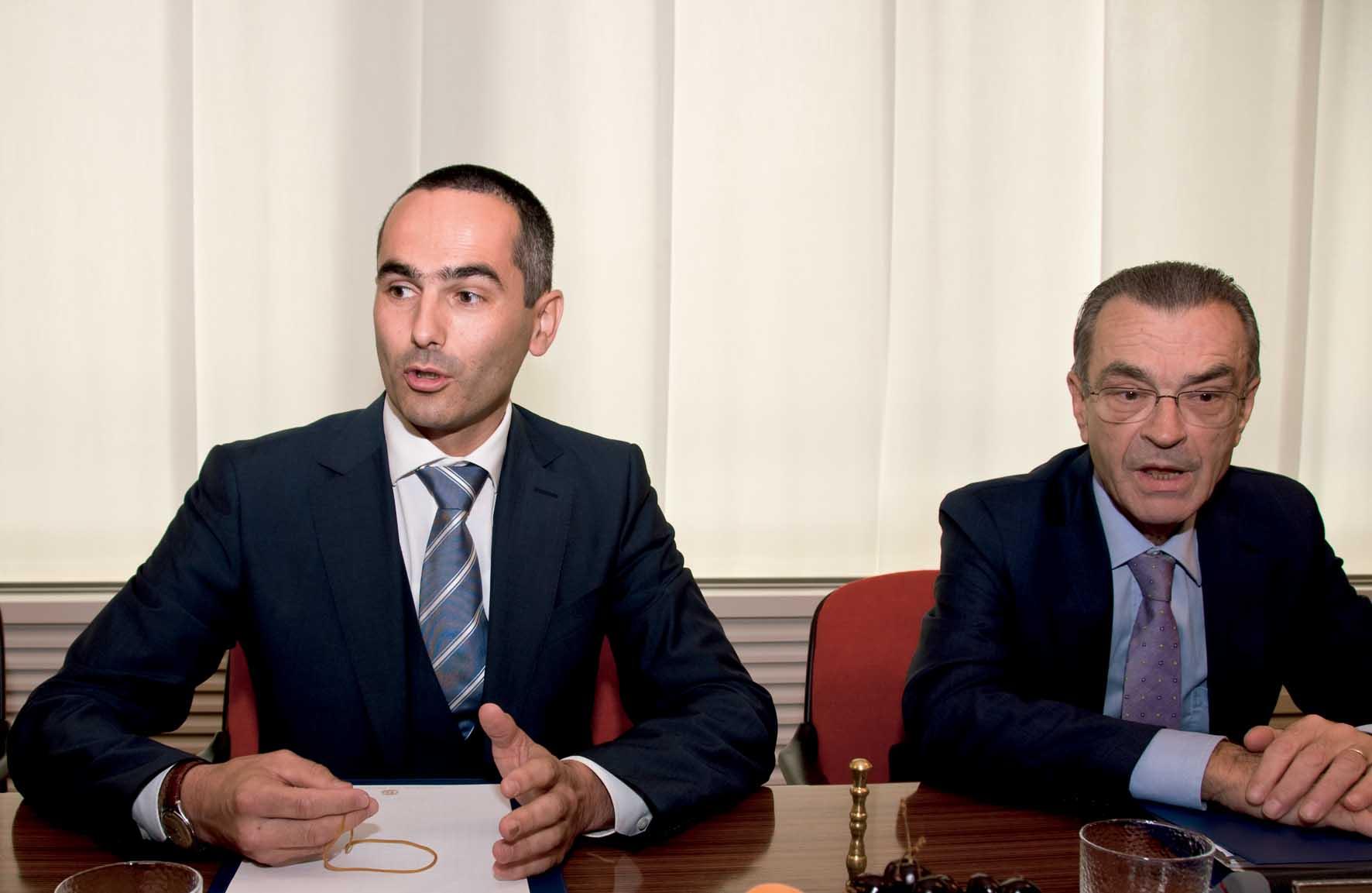A22 presidente Walter Pardatscher AD Paolo Duiella 1
