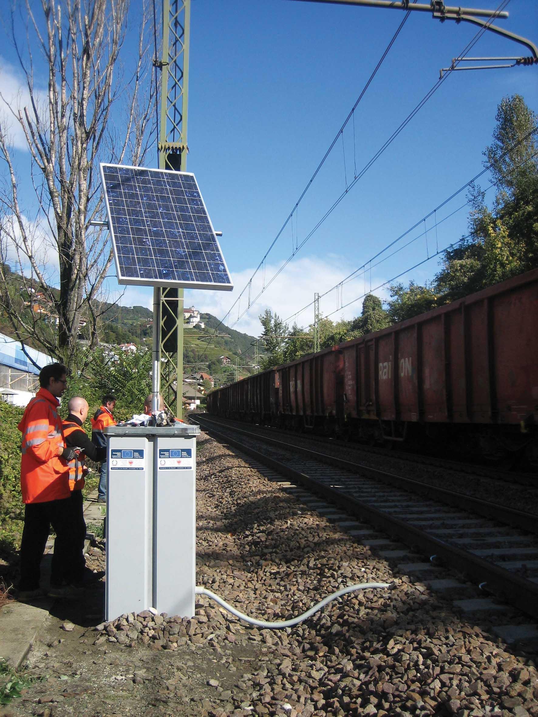 PAB progetto mitiga rumore ferrovia lubrificazione binari chiusa 1