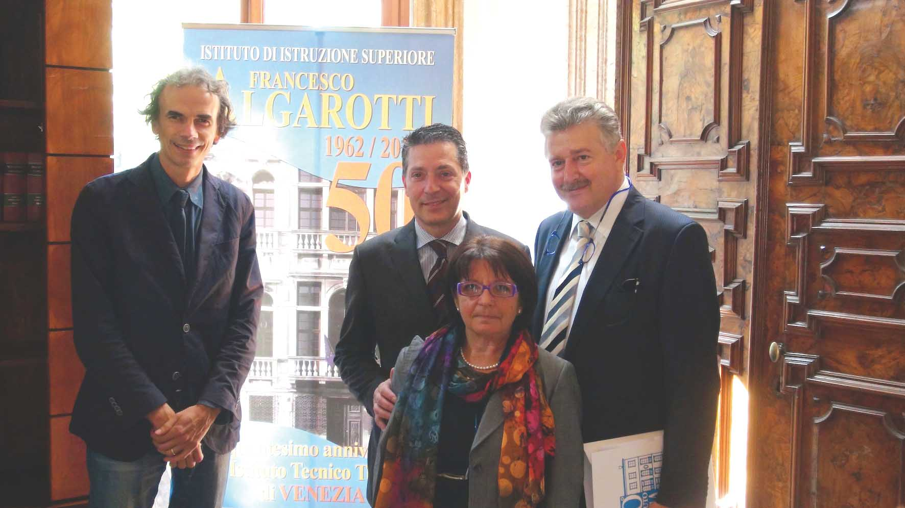 celebrazioni 50 anni istituto algarotti venezia 1