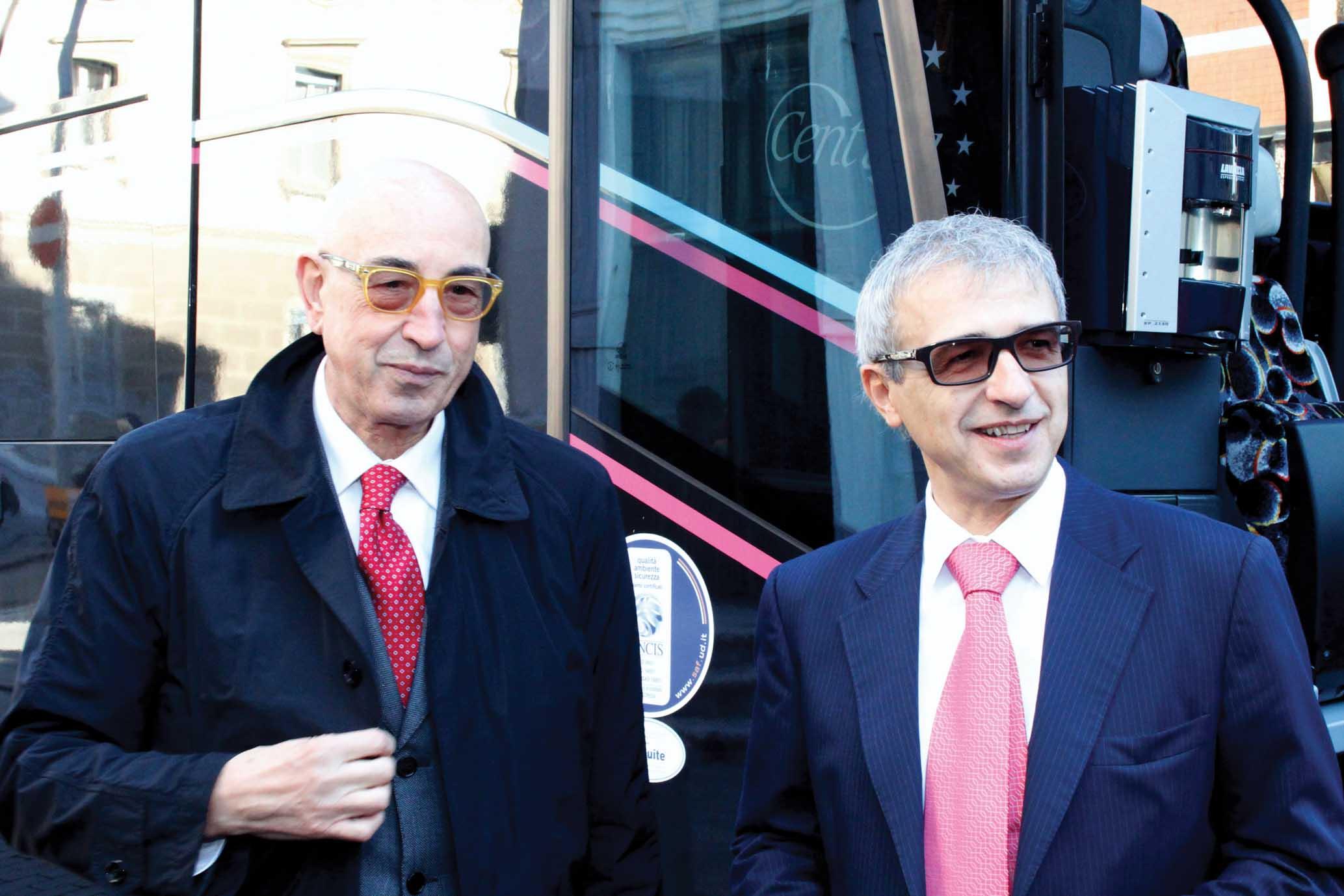 Confindustria Udine autoservizi Saf Silvano Barbiero e Adriano Luci FotoGasperi 1