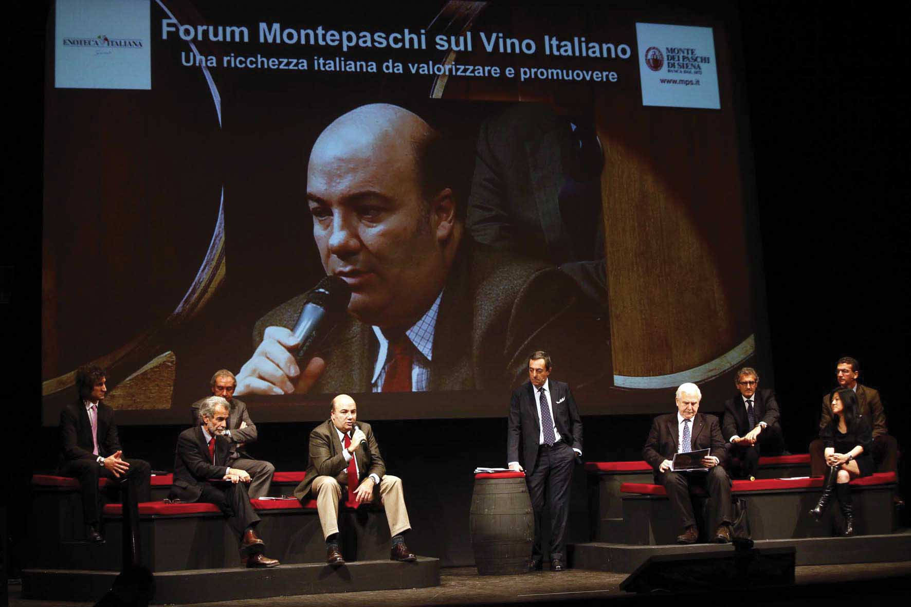 Siena 3 Forum Montepaschi sul vino italiano 1