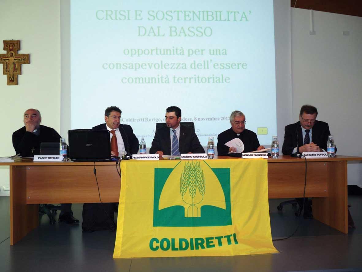 coldiretti convegno crisi economica tavolo di paolo 1