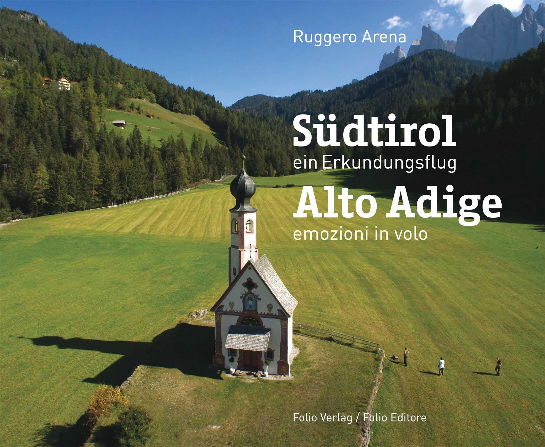 Libro folio Arena Alto Adige Emozioni in volo 1