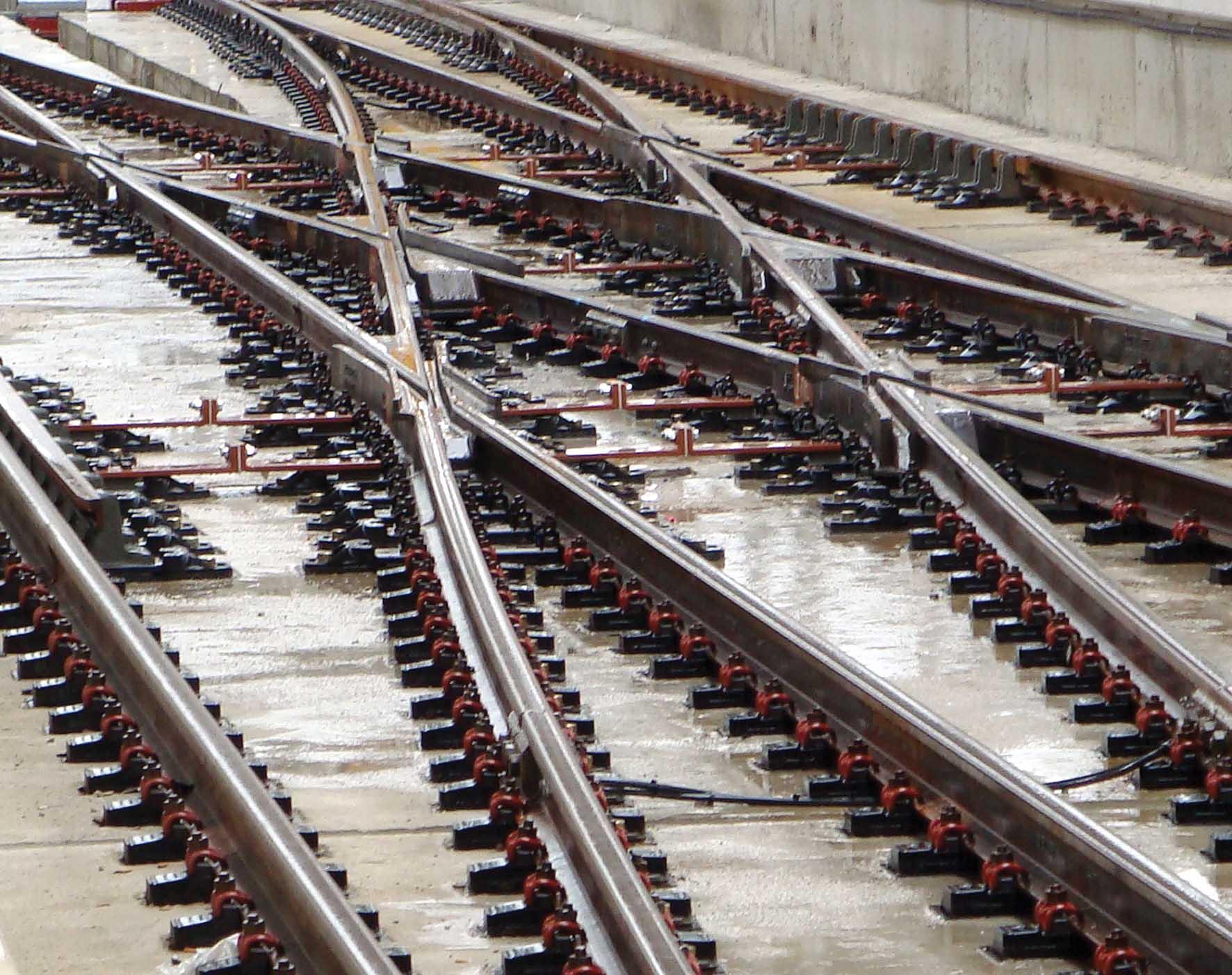 ferrovia del brennero Tav Brescia-Verona-Padova binari ferroviari ferrovia scambi 1