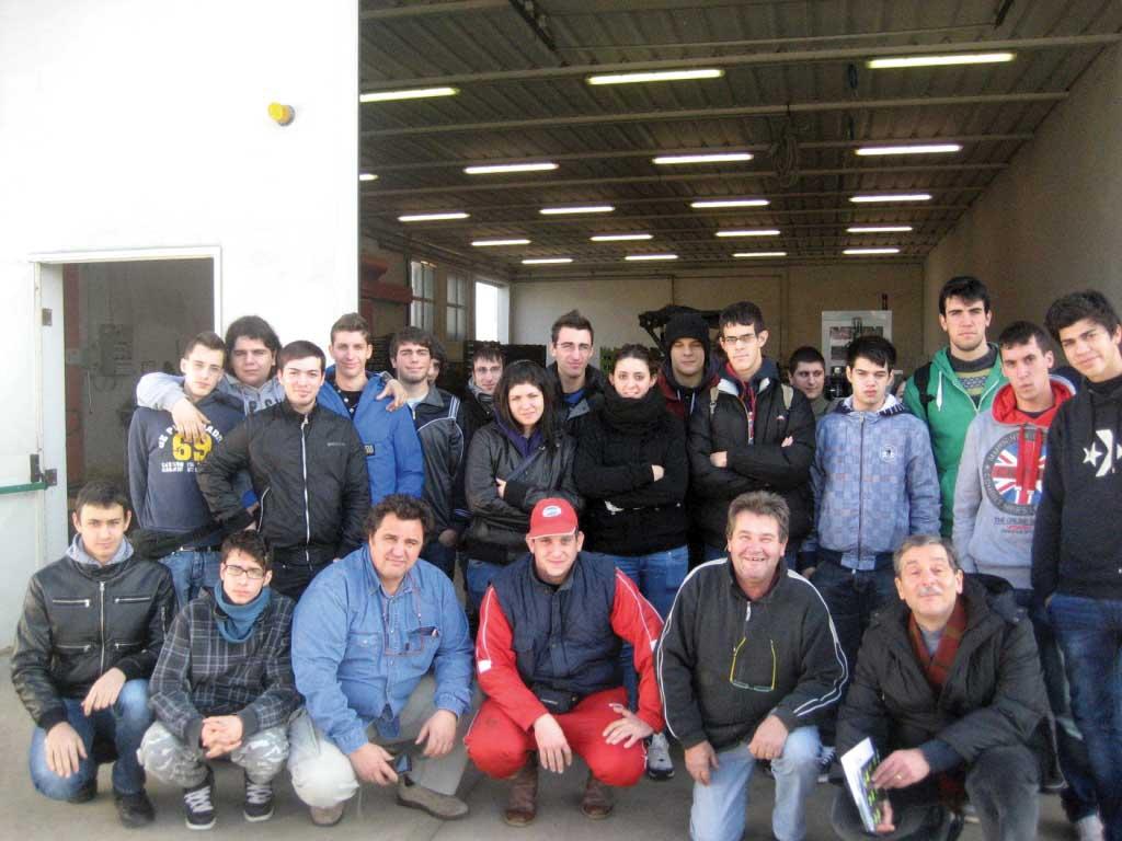 coldiretti polesine visita scuola azienda agricola gruppo 1