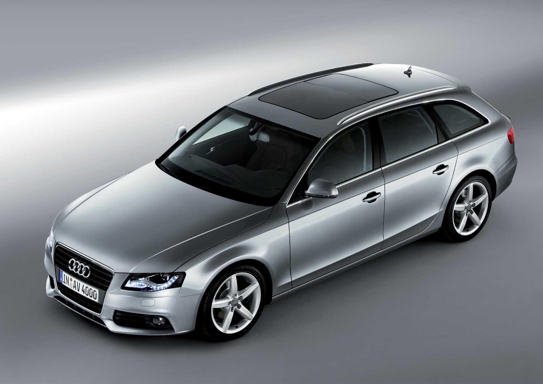 Audi 2008 nuova A4 Avant frontlat alto 1