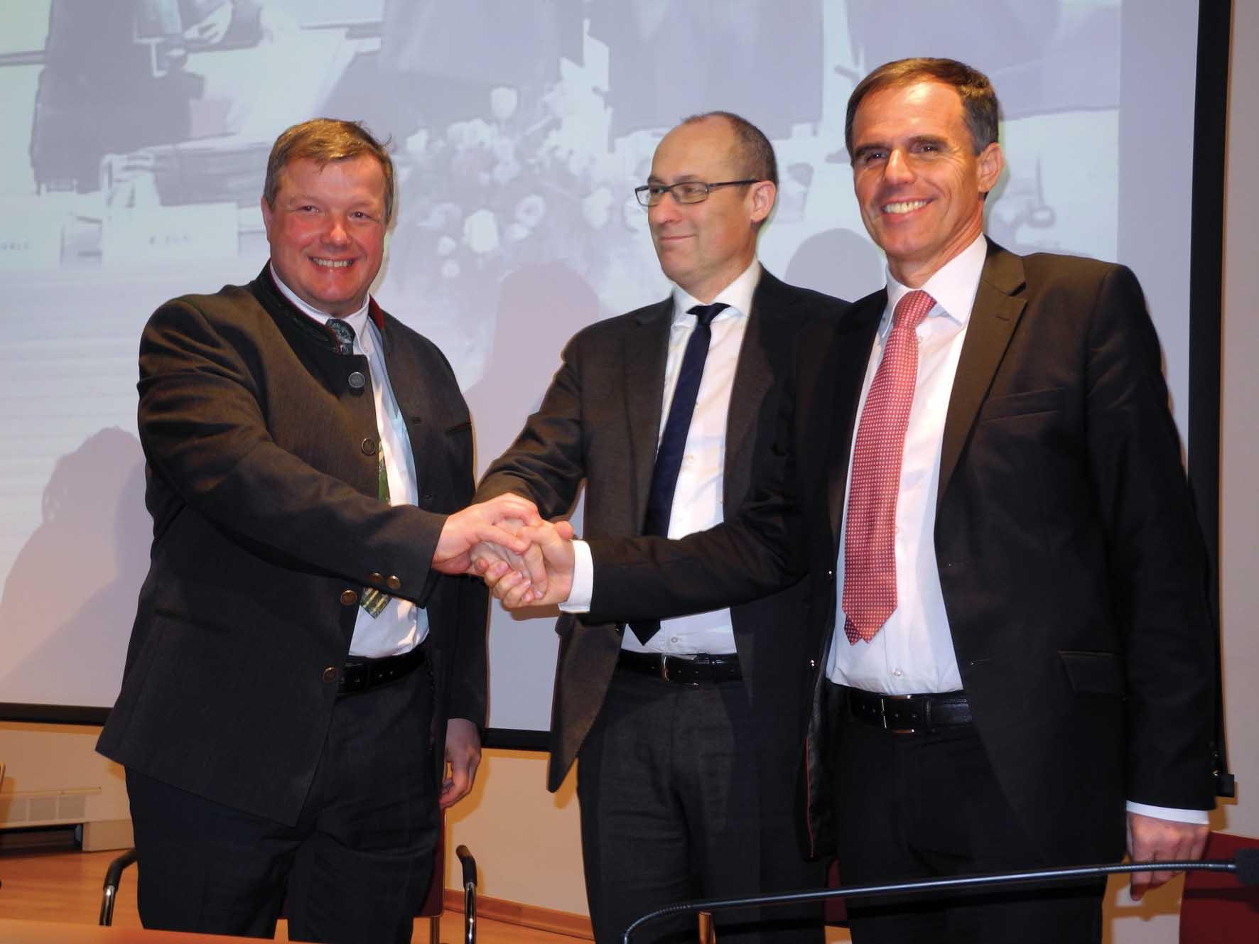 Euregio tirol assessori sanità PAB Richard Theiner Ugo Rossi PAT e Bernhard Tilg Tirol 1