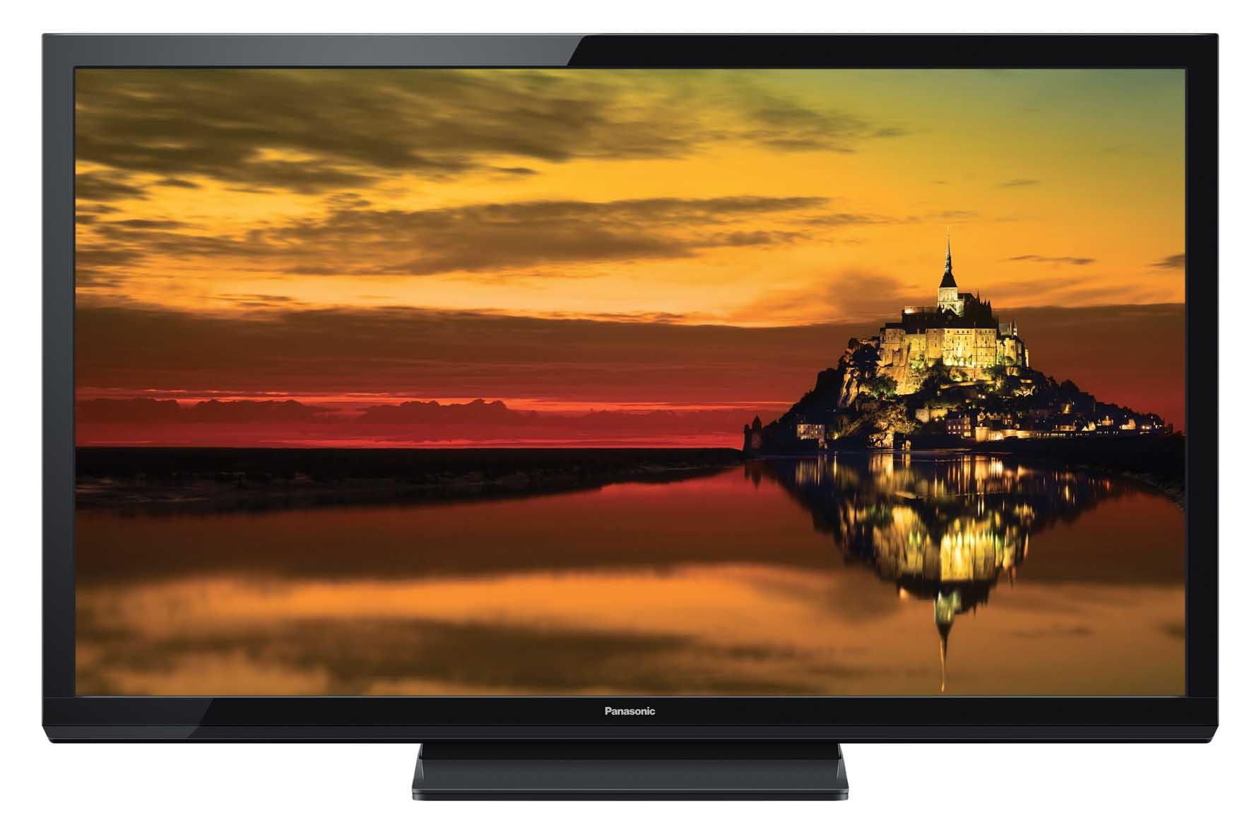 Panasonic tv plasma TX-P50X60 schermo colorato 1