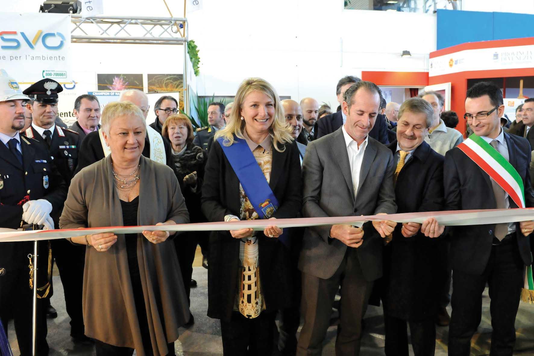 Provincia venezia inauguazione fiera turismo caorle zaccariotto zaia 1