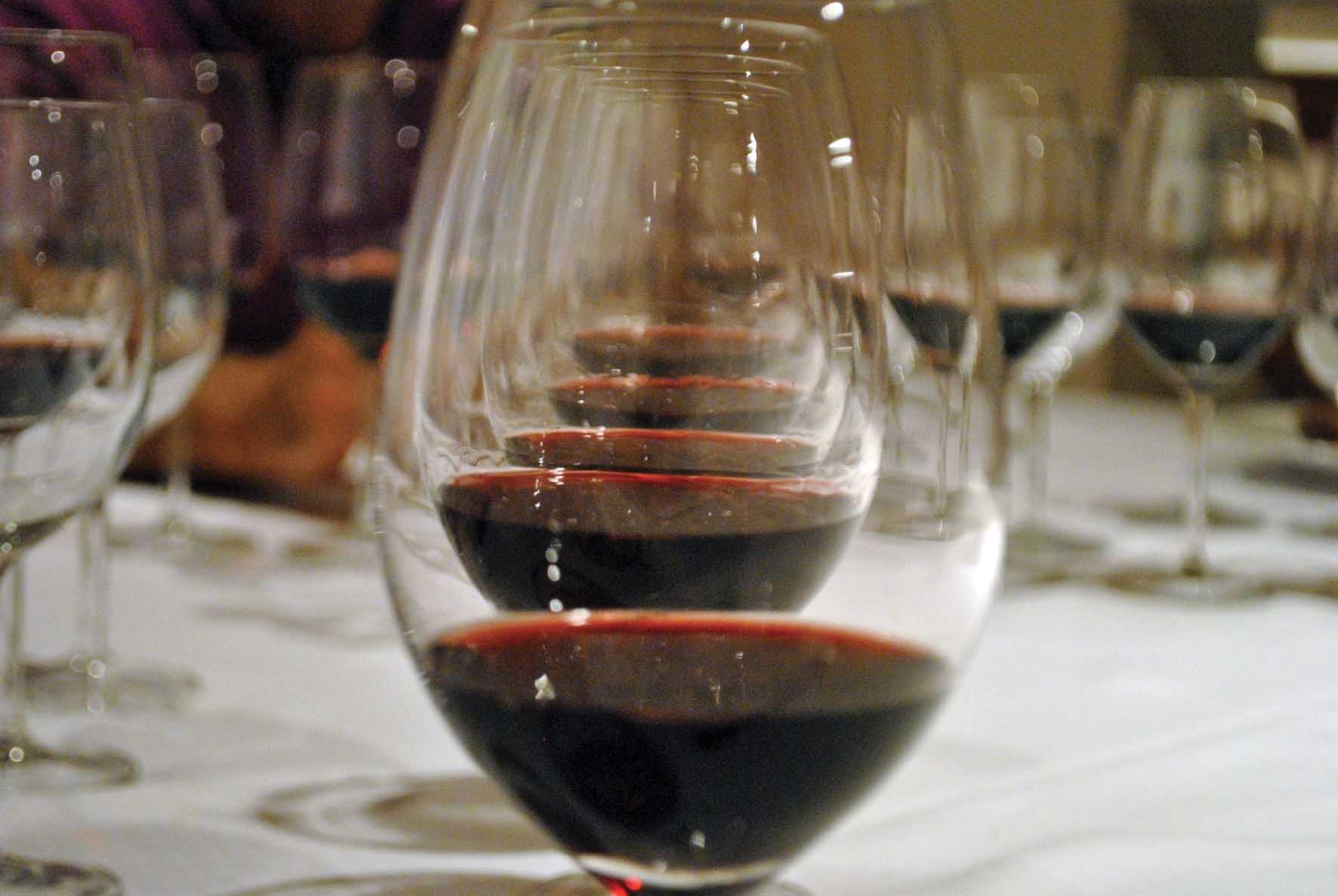 Degustazioni Cantina Valpolicella Negrar bicchieri vino 1