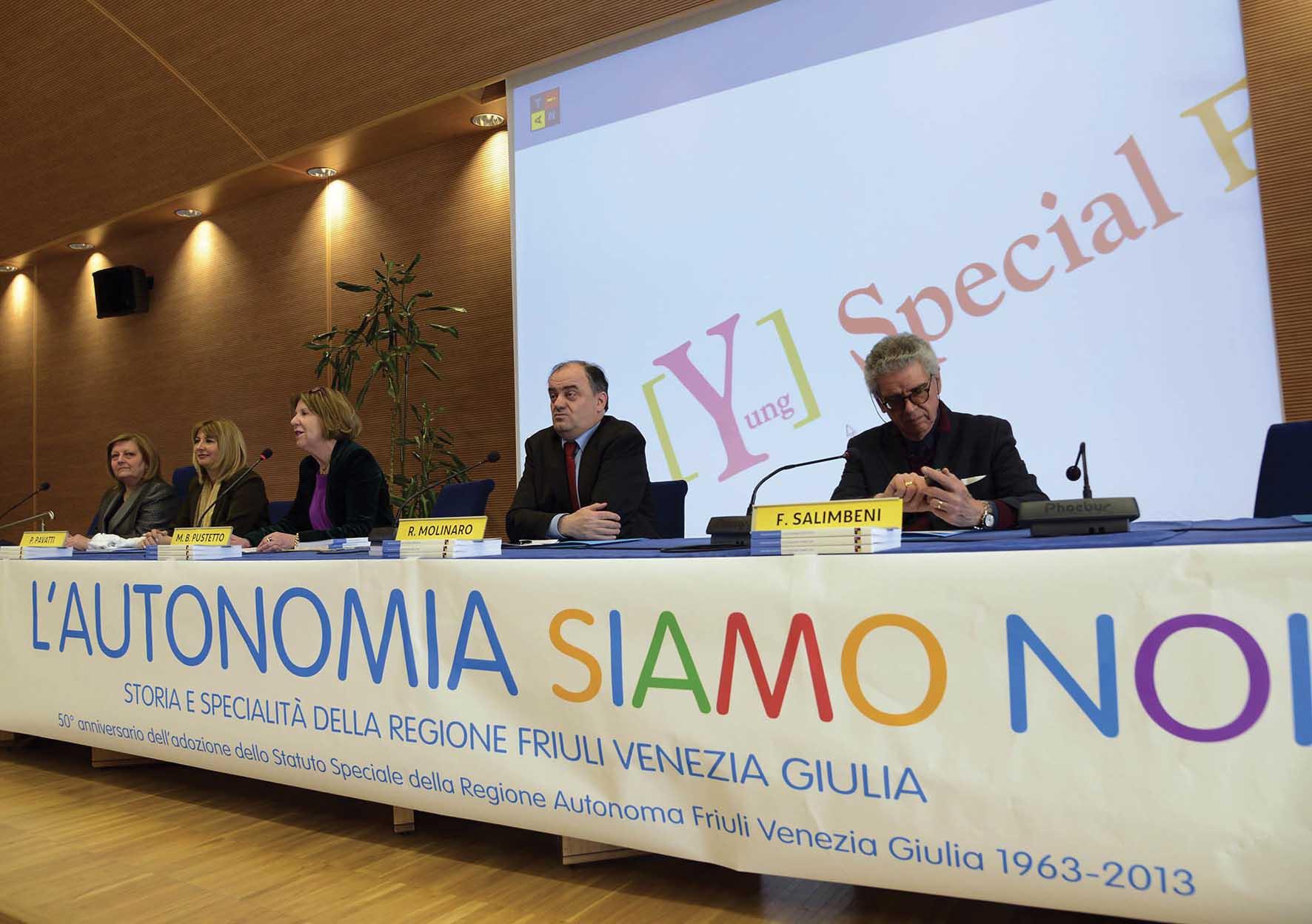 FVG autonomia siamo noi autrice Maria Bruna Pustetto Roberto Molinaro e altri 1