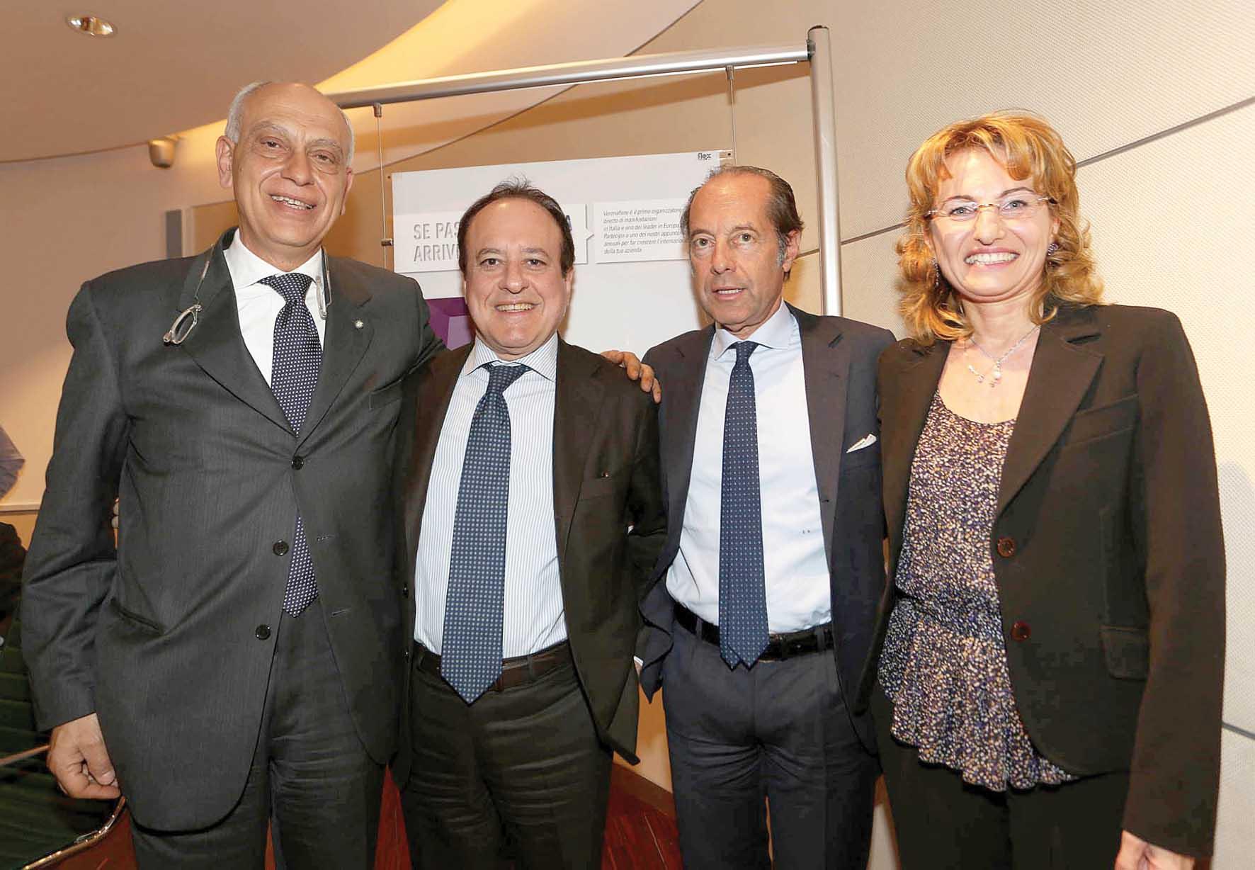 Verona fiere accordo fiere lapidee brasile da sx Simest dAiuto Mantovani Riello Acri sace 1
