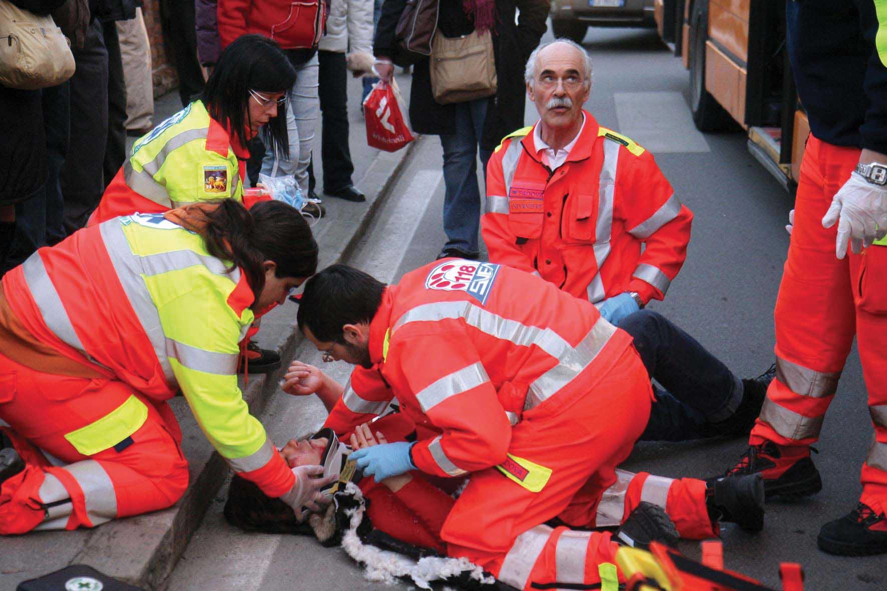 incidente stradale primo soccorso