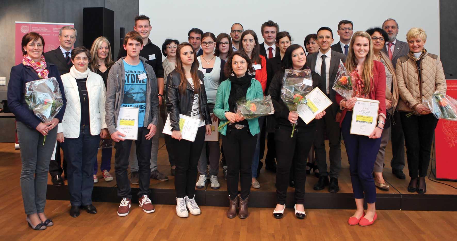 CCIAA BZ concorso cultura ed economia in alto adige 2013 premiati 1