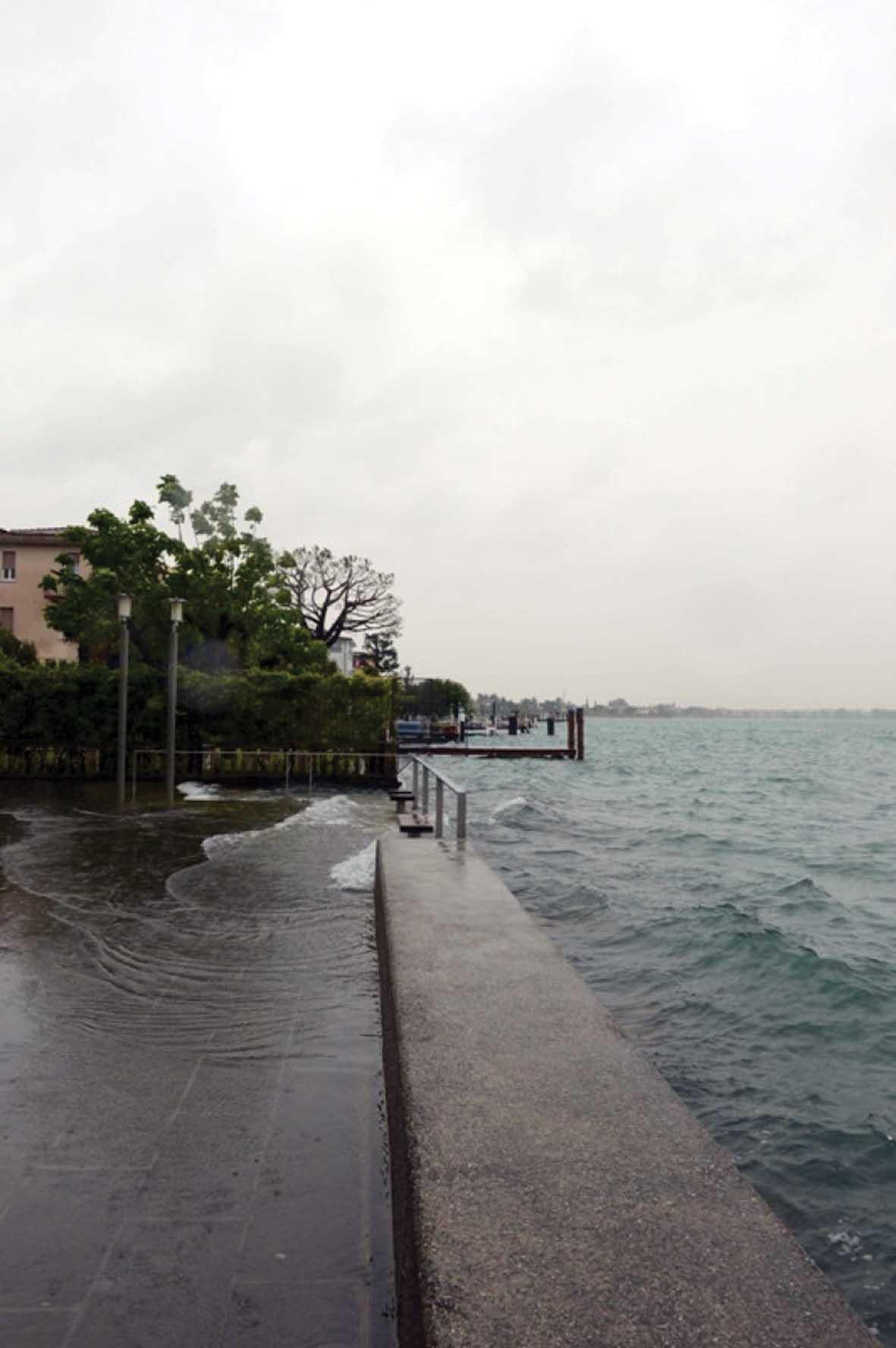 lago garda esondato Sirmione 1 1