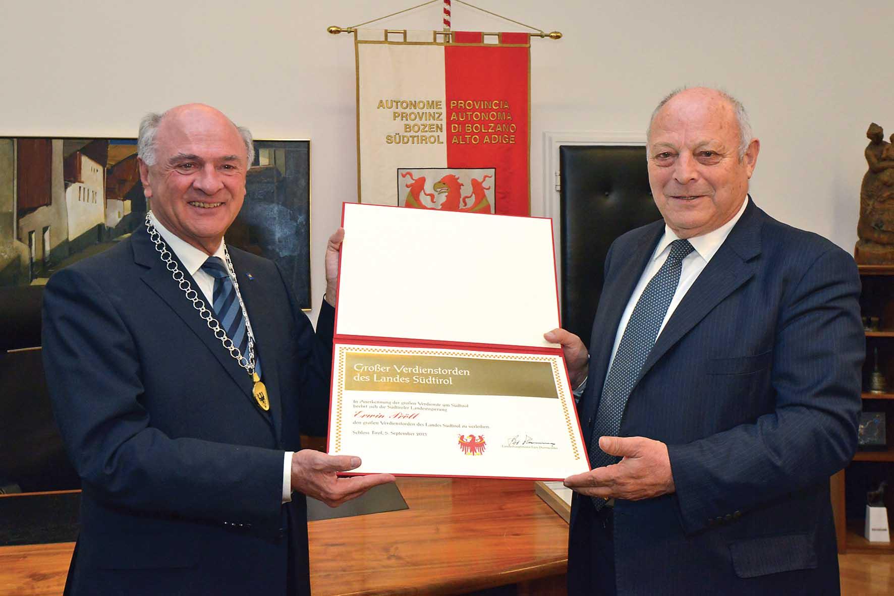 PAB Durnwalder governatore dell Austria20inferiore20Erwin20PrF6ll202 1