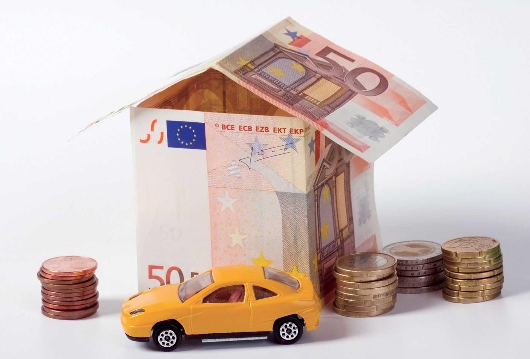 euro soldi tasse assicurazioni casa auto 1