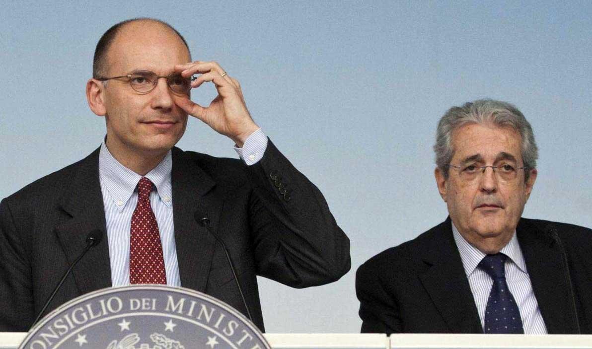 governo-enrico-Letta-Fabrizio-Saccomanni-ilnordest