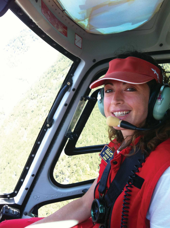 Elifriulia prima pilota donna elicottero Maddalena Di Pede OK-1 1