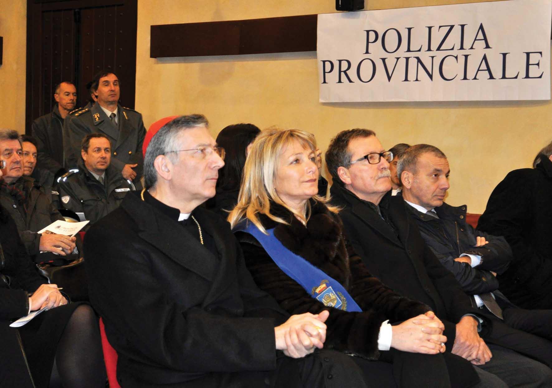 Zaccariotto Patriarca Moraglia festa polizia provinciale 1