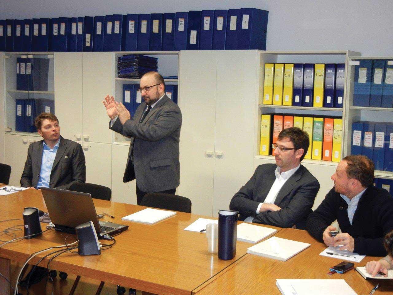 confindustria Udine apertura del seminario sulle tecniche di relazioni istituzionali 1