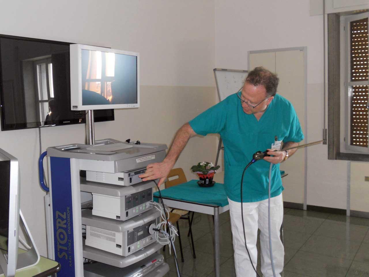 telecamera laparoscopia salute donna belluno 1