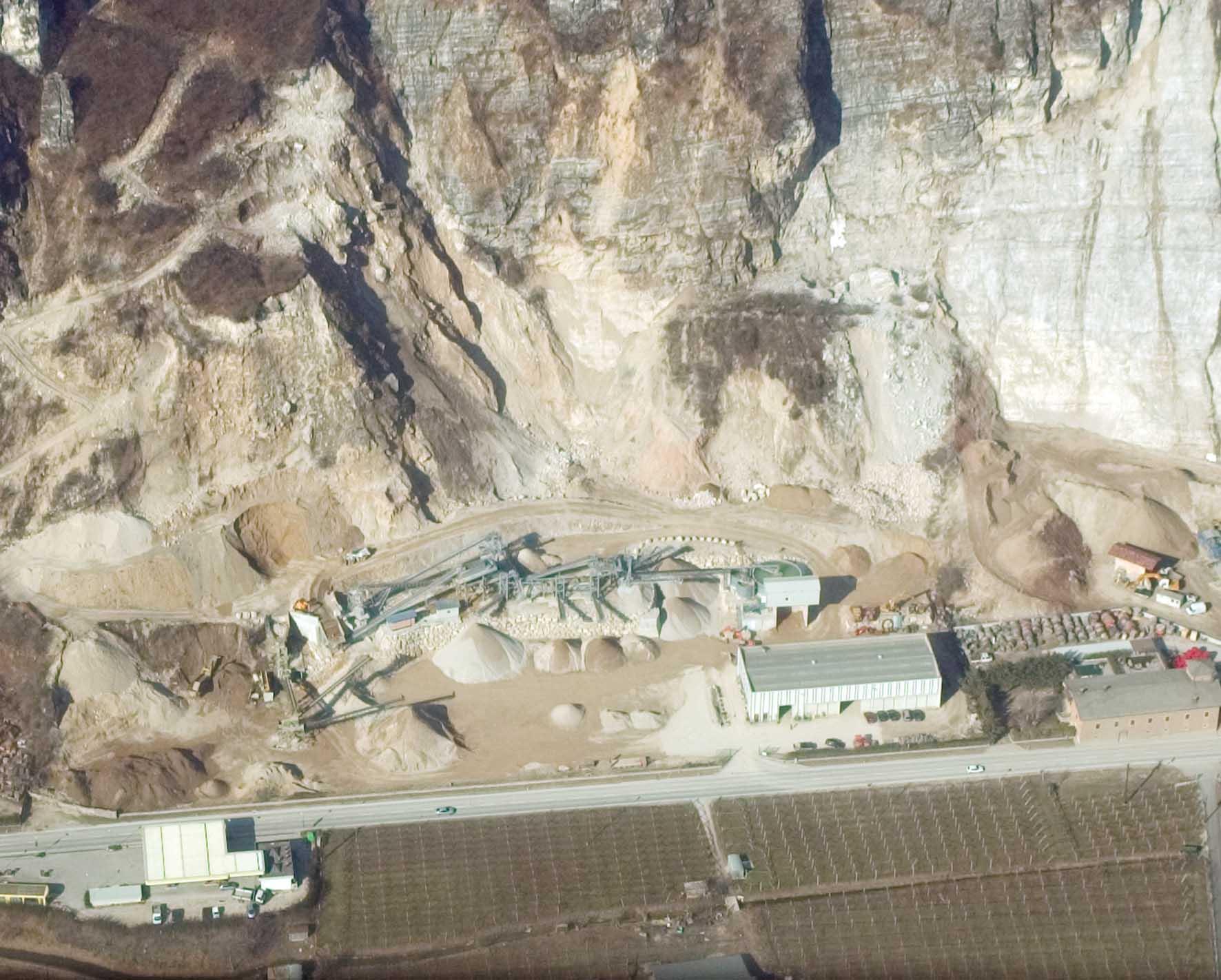 AliTrento panorama cave inerti aldeno 1