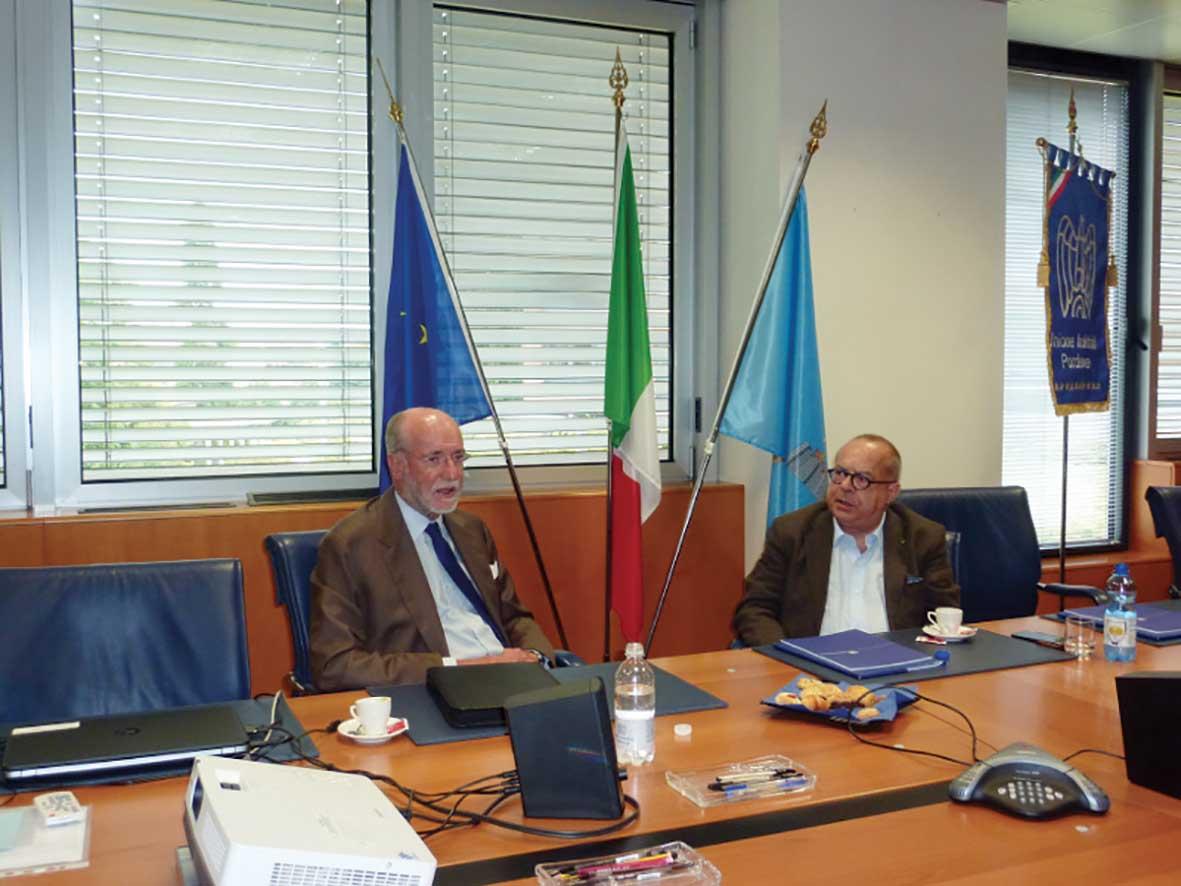 confindustria PN incontro Rocca Agrusti