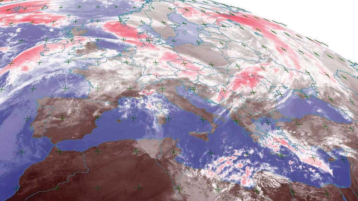 meteo europa satellite