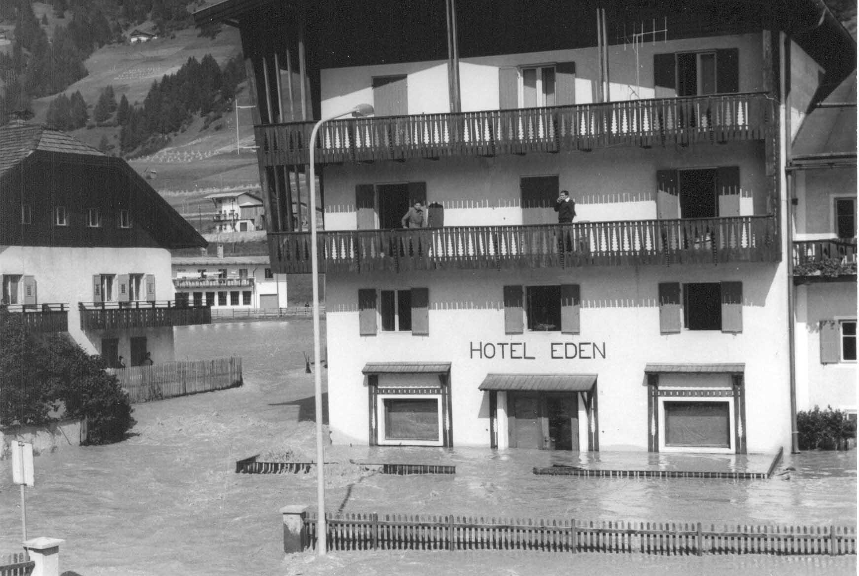 pab drava Lalluvione del 1965 a San Candido