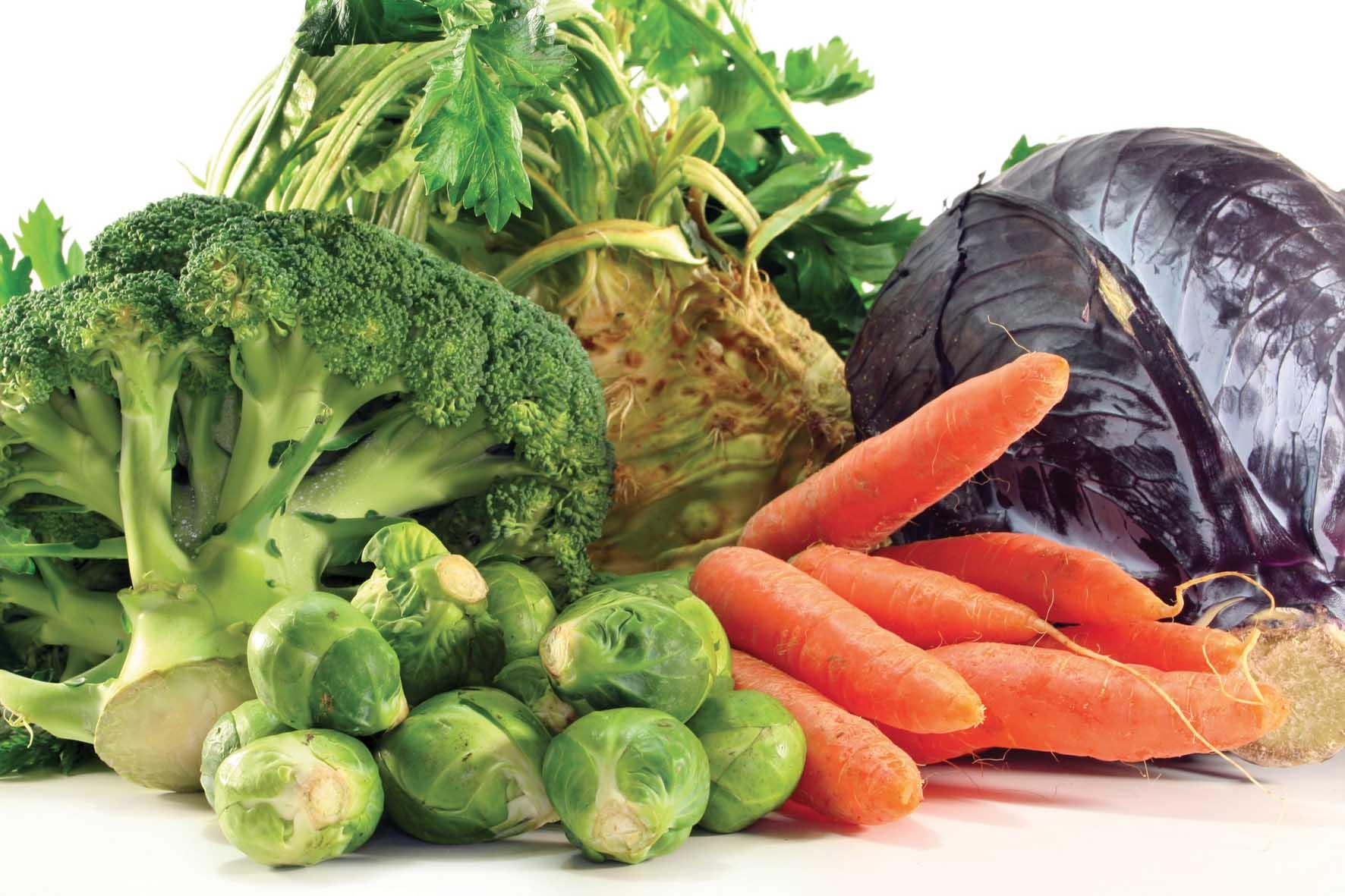 vegetali ortaggi broccolo carote sedano 1