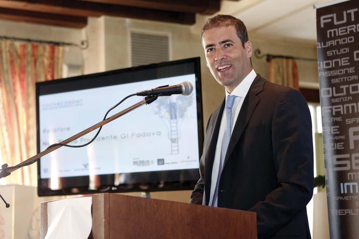 Rodolfo Cetera Presidente GGI Confindustria Padova