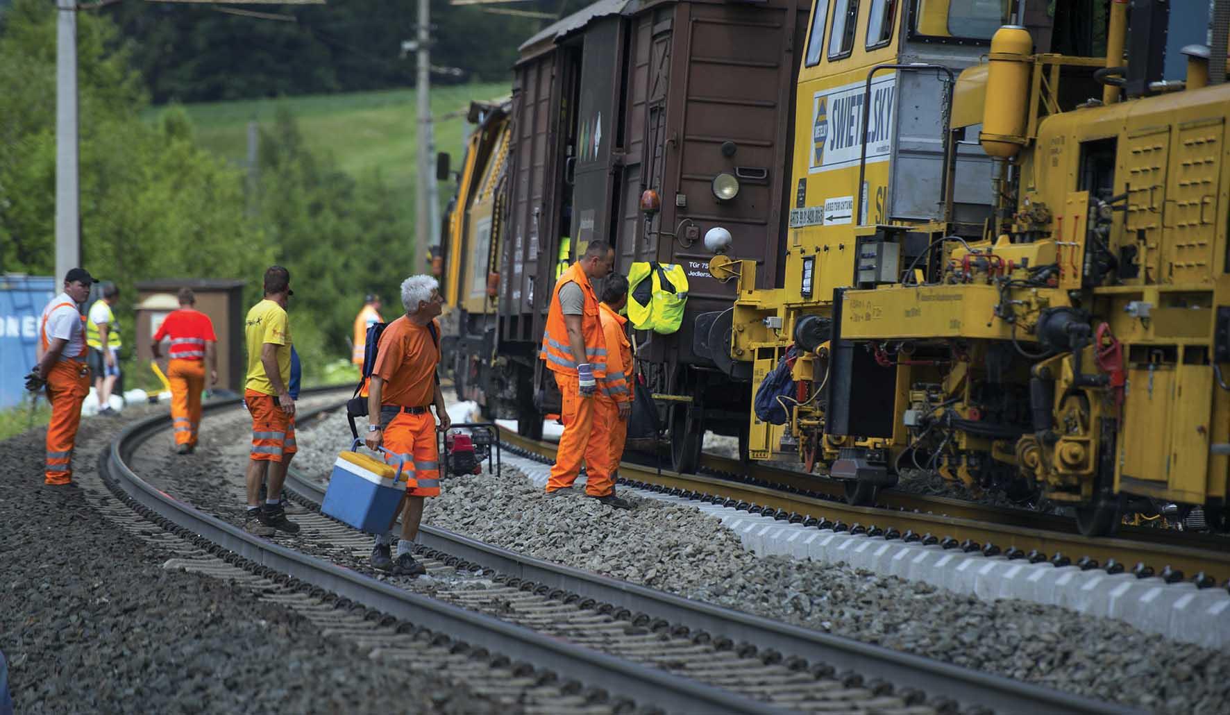 lavori ristrutturazione linea ferroviaria brennero in Austria 1 1