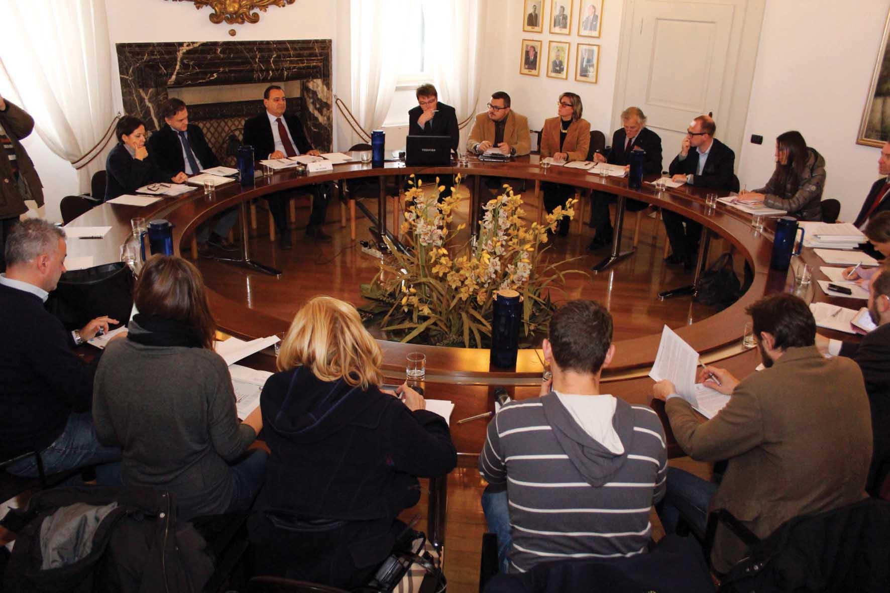 conferenza stampa di Federmeccanica a Udine foto Gasperi 1