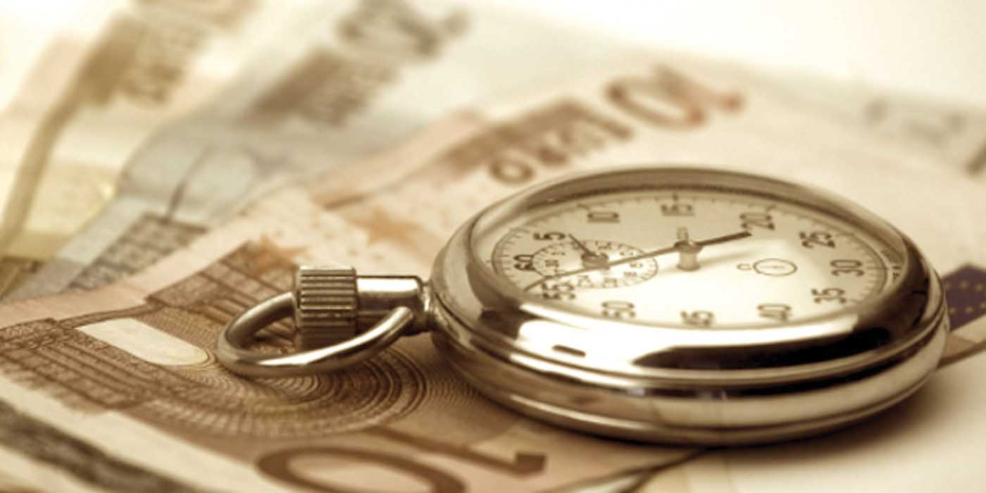 tempi di pagamento PA orologio biglietti banca 1